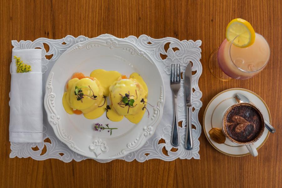 Café da manhã da Doceria Maria Antonieta na fotografia do fotógrafo Romero Cruz
