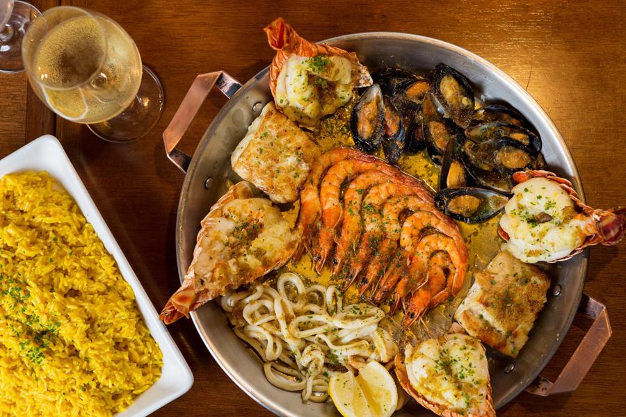 Fotógrafo Romero Cruz fotografou o prato sugestão do chef rede de pescador do restaurante Coco Bambu