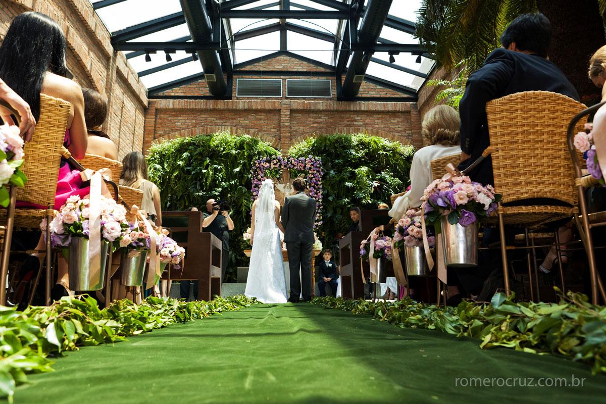 Romero Cruz fotografa casamento no Restaurante Cantaloup em São Paulo-SP