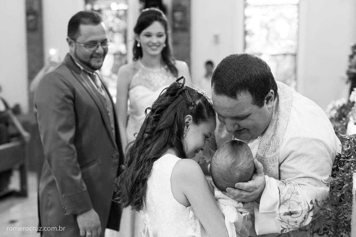 Fotografia de casamento no momento de emoção