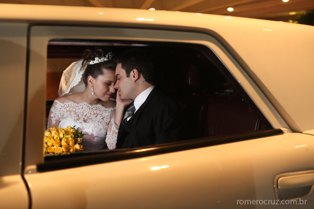 Fotógrafo Profissional Romero Cruz fotografou o casamento dos noivos Marlyan e Bruno