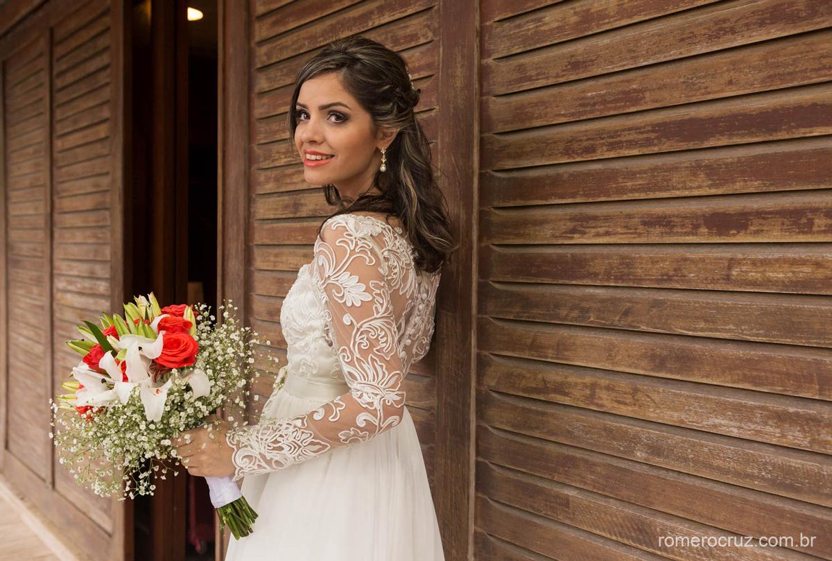 Making of de casamento noiva pronta para o casamento fotografado por Romero Cruz