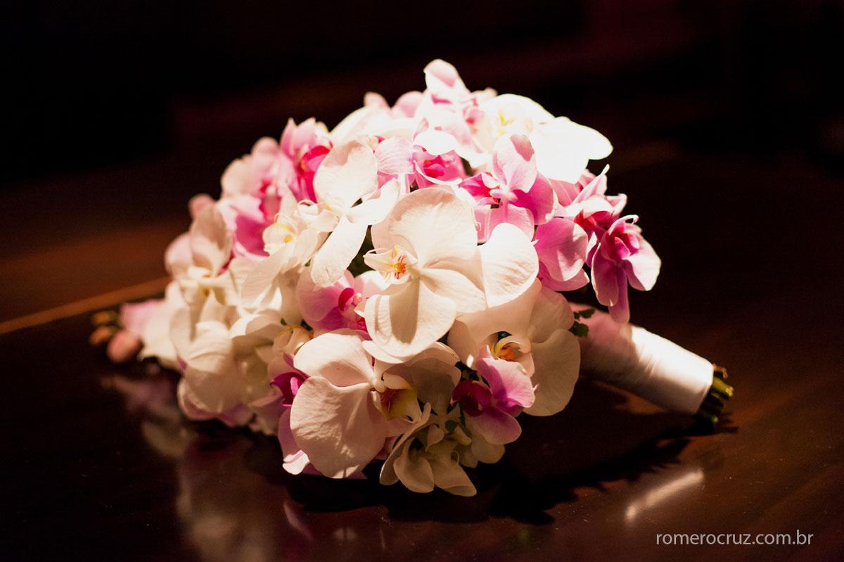 Linda foto do bouquet de casamento feita pelo fotógrafo Romero Cruz