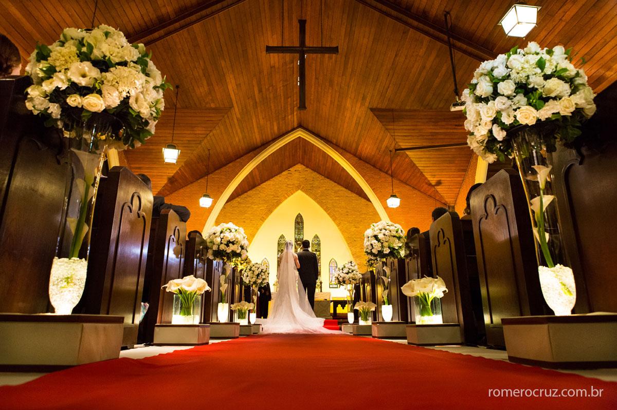 Altar da Catedral Anglicana de São Paulo-SP na foto do fotógrafo Romero Cruz