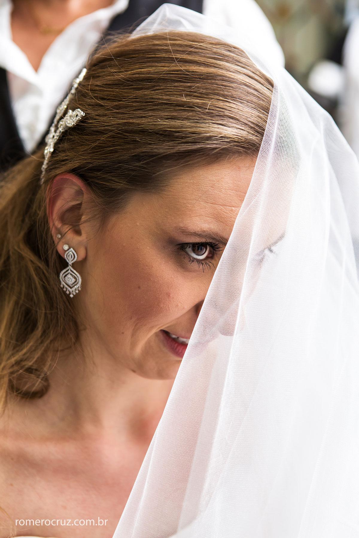 Fotografia do making of da noiva Mariana Colin