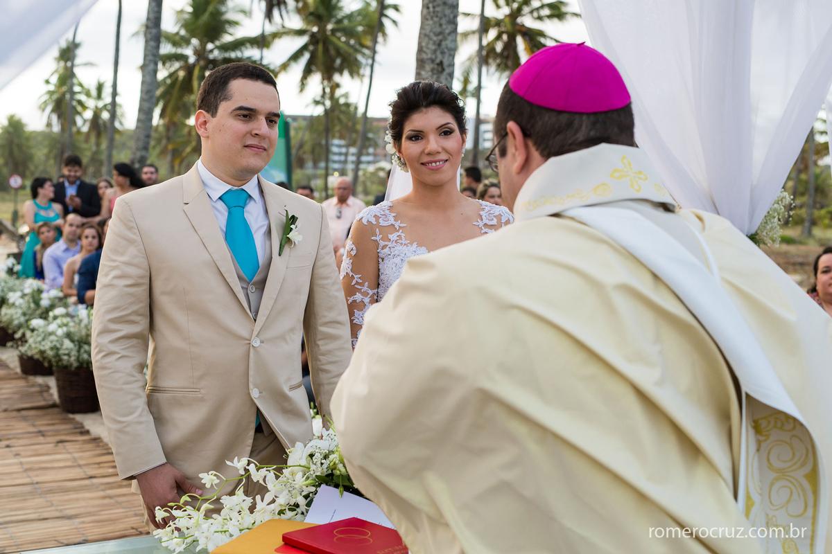 Casamento lindo, numa praia linda foi assim que fotografei o casamento dos noivos Marianne e Alysson
