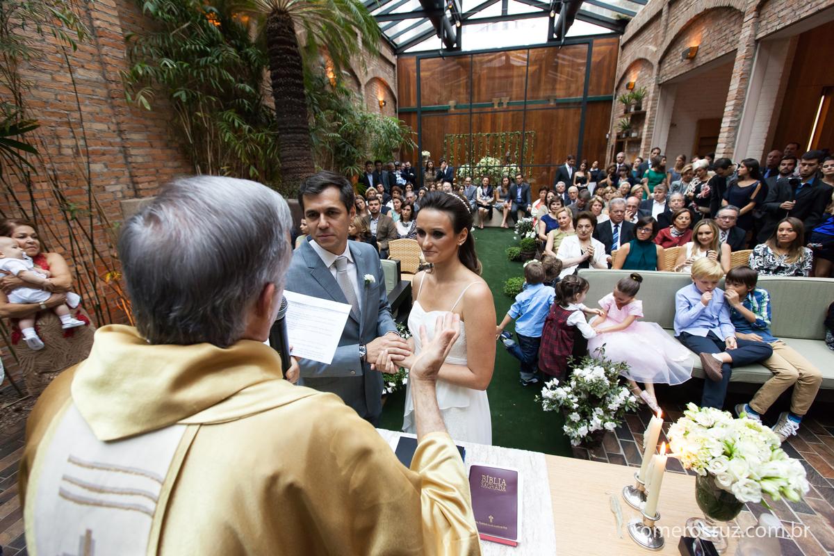 Casamento no restaurante Cantaloup em São Paulo