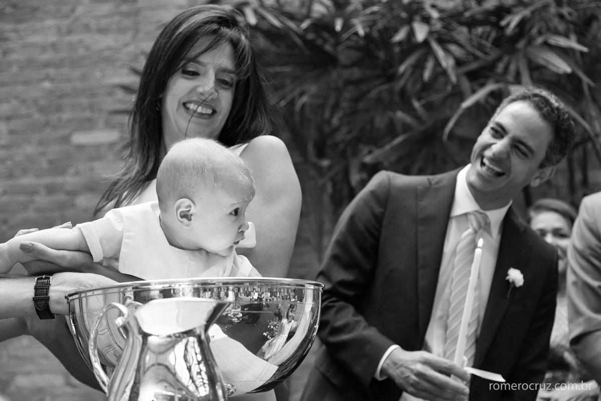 Batizado e casamento na mesma cerimônia
