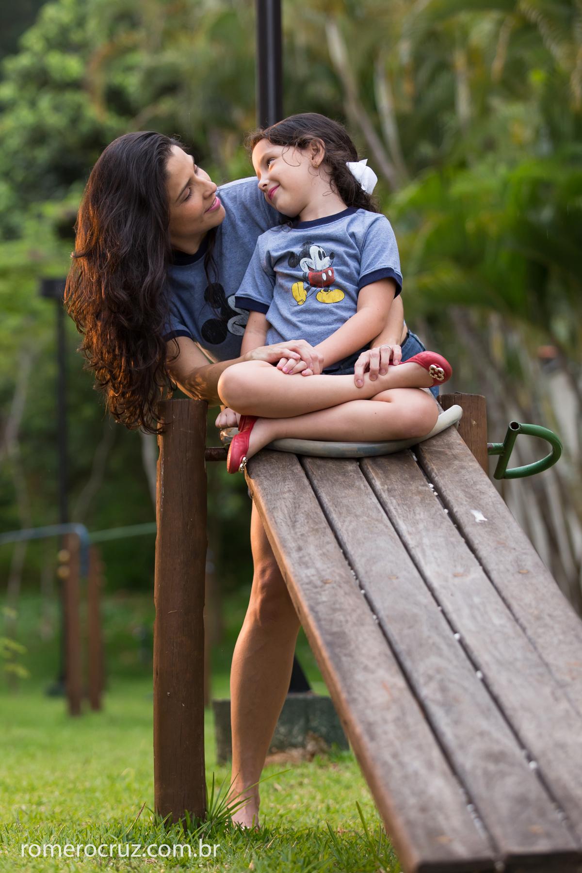 Amor maior entre mãe e filha nas fotos do ensaio da Carla e Anna