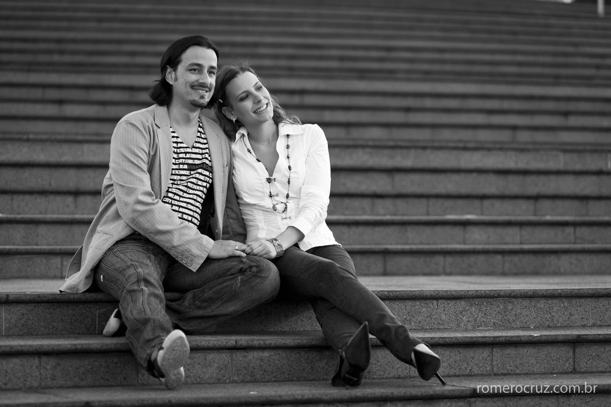 Casal Natalia Russo e Guilherme escolheu o fotógrafo Romero Cruz para fotografar o ensaio e casamento