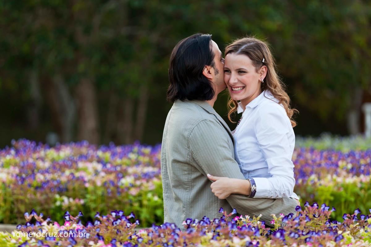 Fotógrafo Romero Cruz fotografou o casal de noivos Natalia Russo e Guilherme