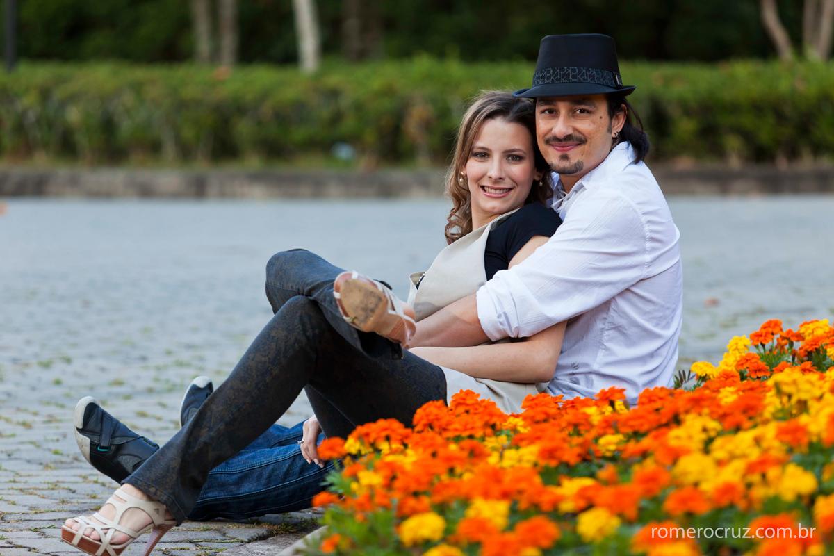 Fotos do ensaio do casal Natalia e Guilherme fotografado por Romero Cruz no Solo Sagrado