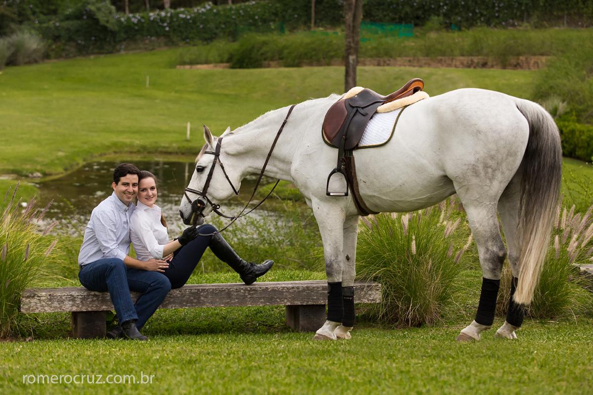 Romero Cruz fotógrafo profissional realizou o ensaio pré-wedding do casal Larissa e Flavio