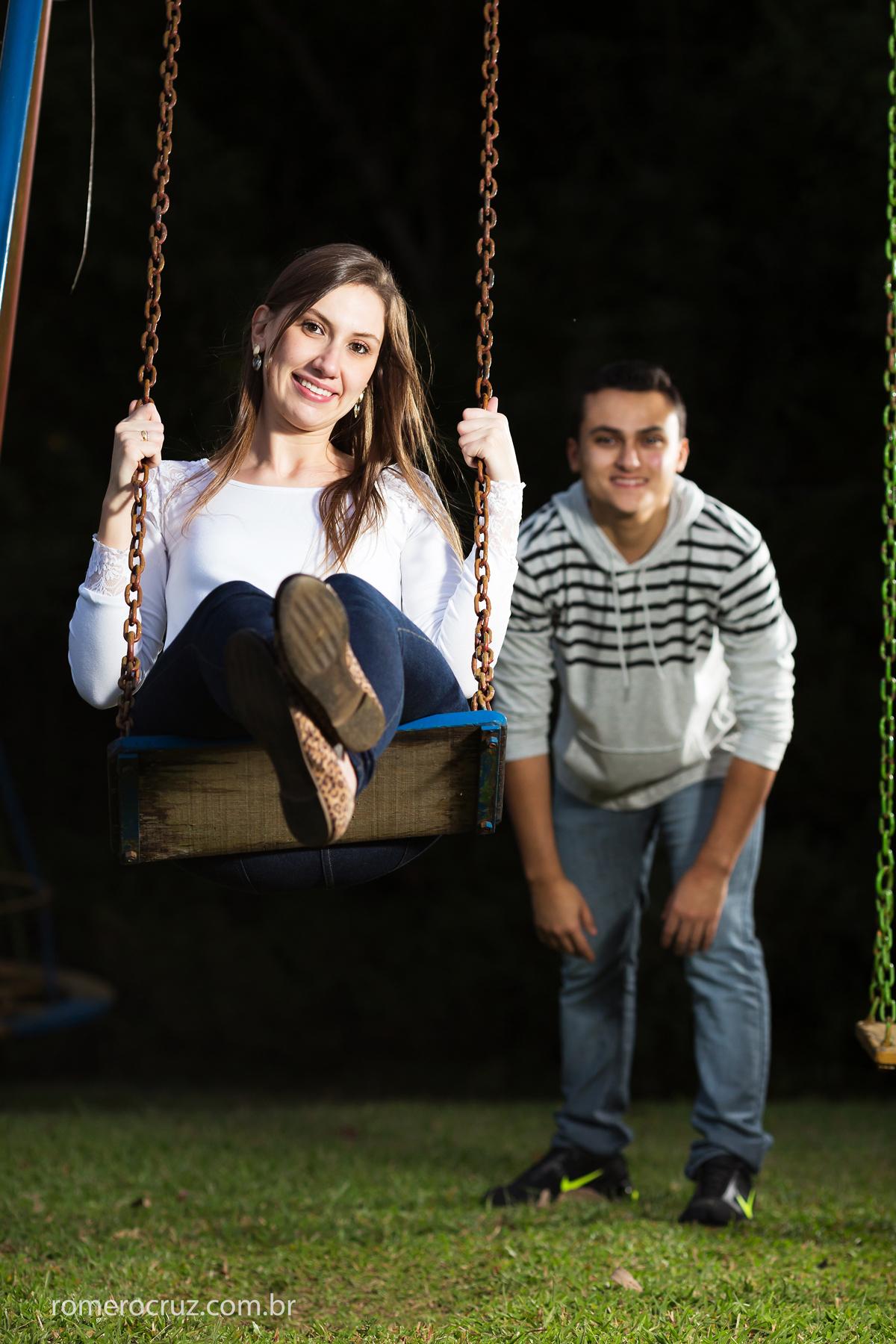 Romero Cruz fotografou o ensaio pré-casamento dos noivos Mariana e Hosman