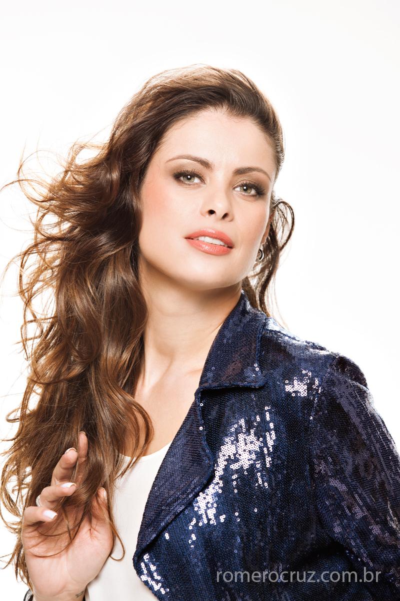 Raquel Freire modelo clicada por Romero Cruz