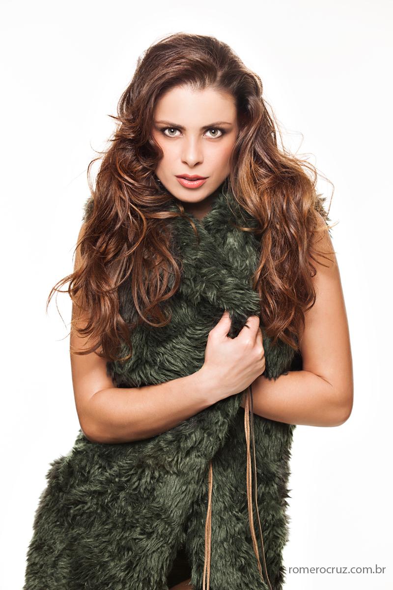 Ensaio fotográfico com a modelo Raquel Freire