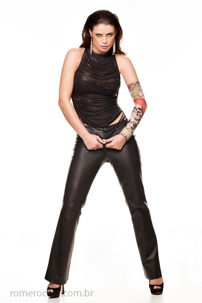 Romero Cruz fotografou a modelo Raquel Freire
