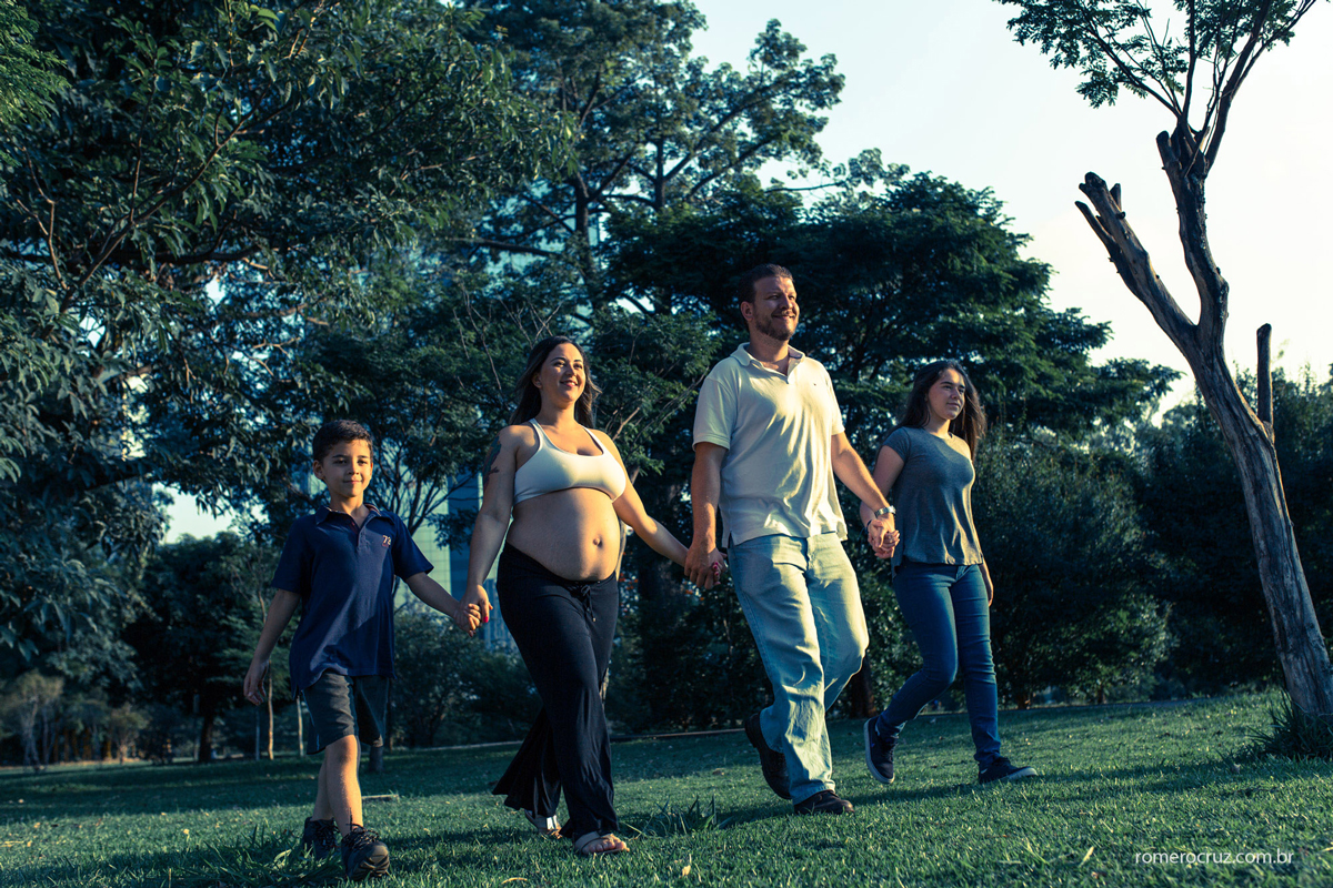 Ensaio fotográfico de família fotografado por Romero Cruz