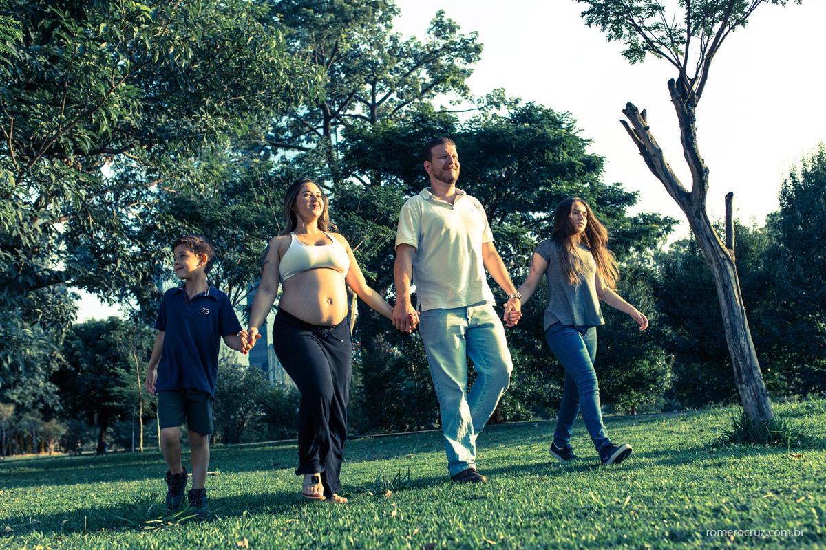Foto de família fotografado pelo fotógrafo Romero Cruz