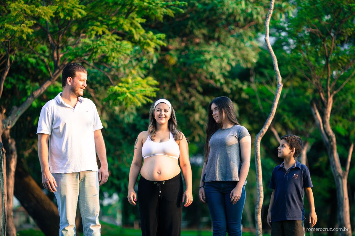 Ensaio família realizado pelo fotógrafo Romero Cruz