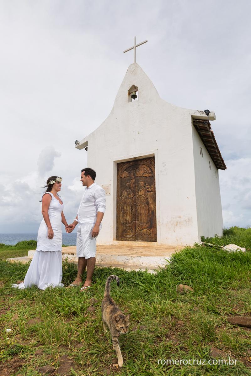 Romero Cruz fotógrafo profissional de casamento fotografou o casal Mariana e Anderson em Fernando de Noronha-PE