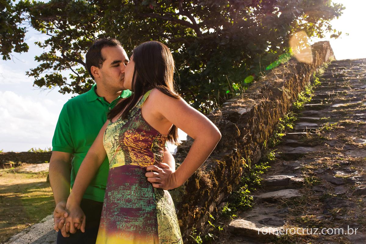 Ensaio fotográfico do casal de noivos Mariana e Anderson no arquipélago de Fernando de Noronha-PE