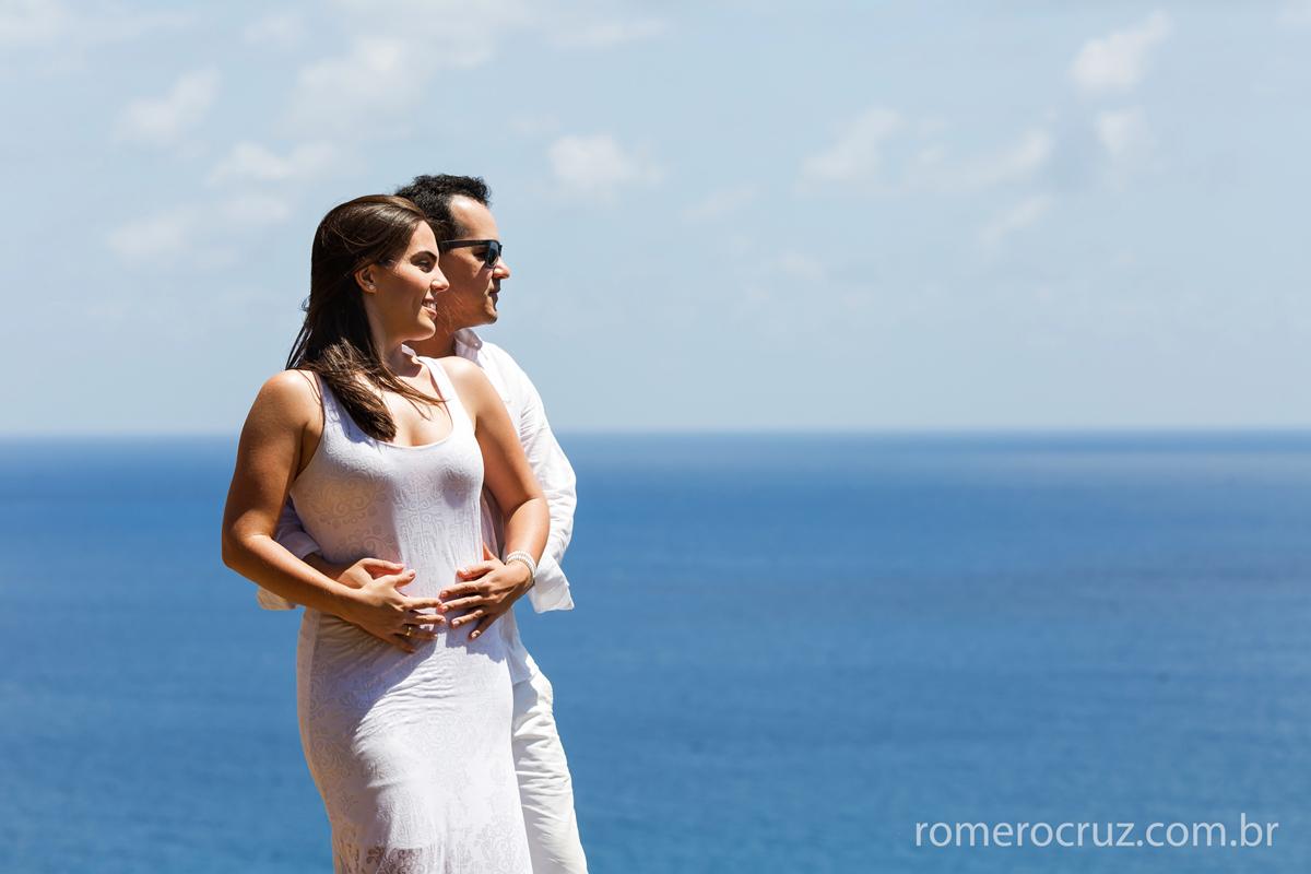 Romero Cruz fotografa casal Mariana e Anderson em Fernando de Noronha