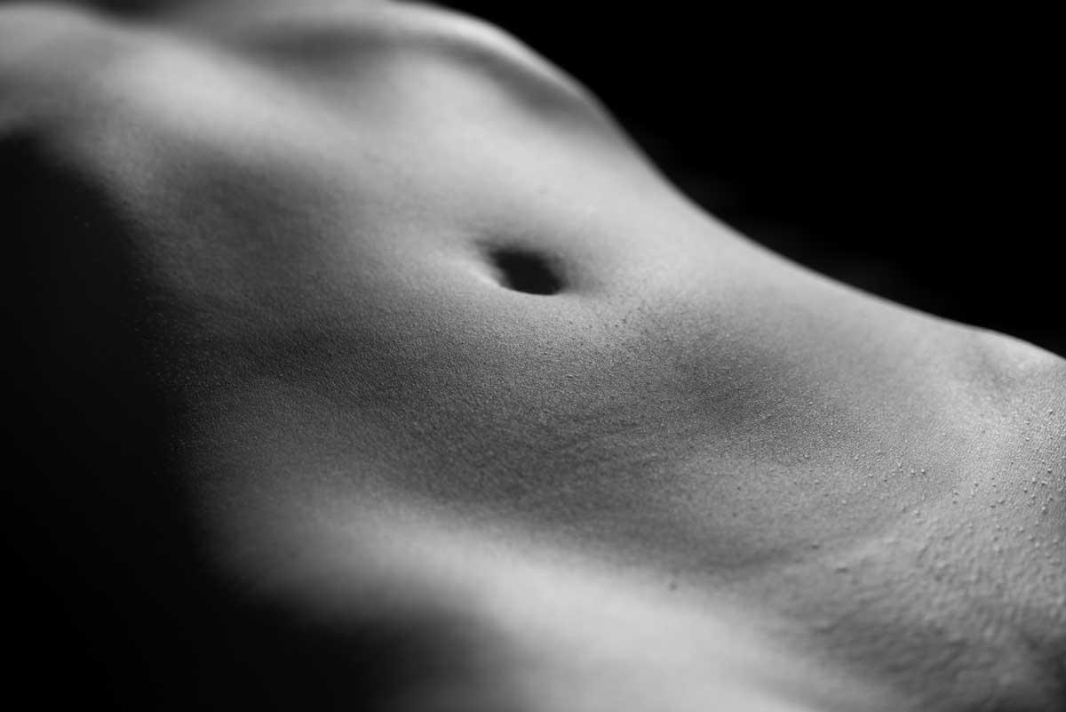 Projeto fotográfico de nu artístico do fotógrafo Romero Cruz