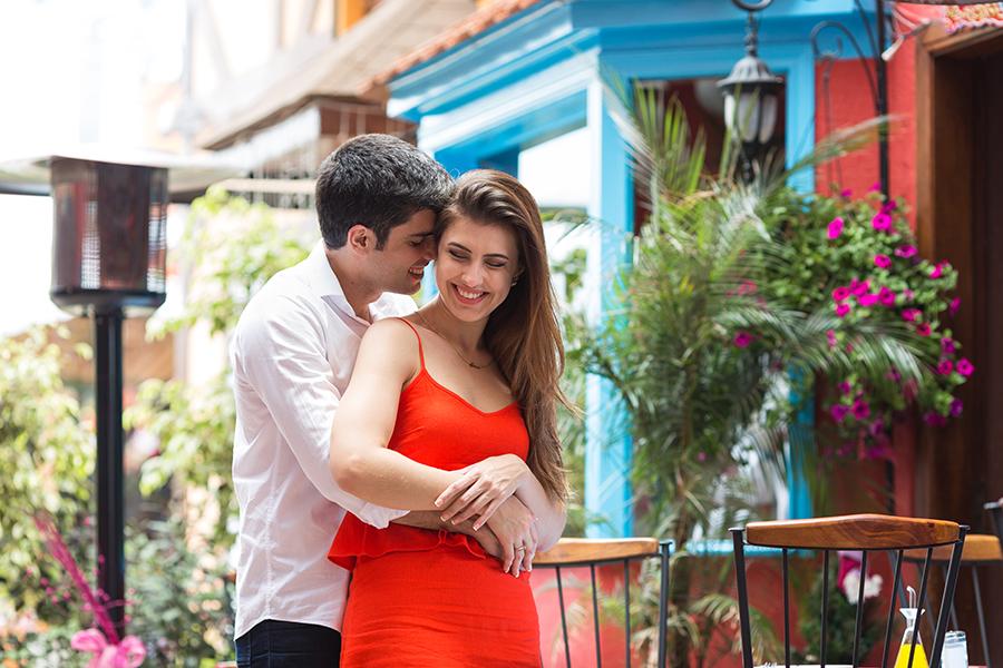 Ensaio pré-casamento, fotografado em Campos do Jordão