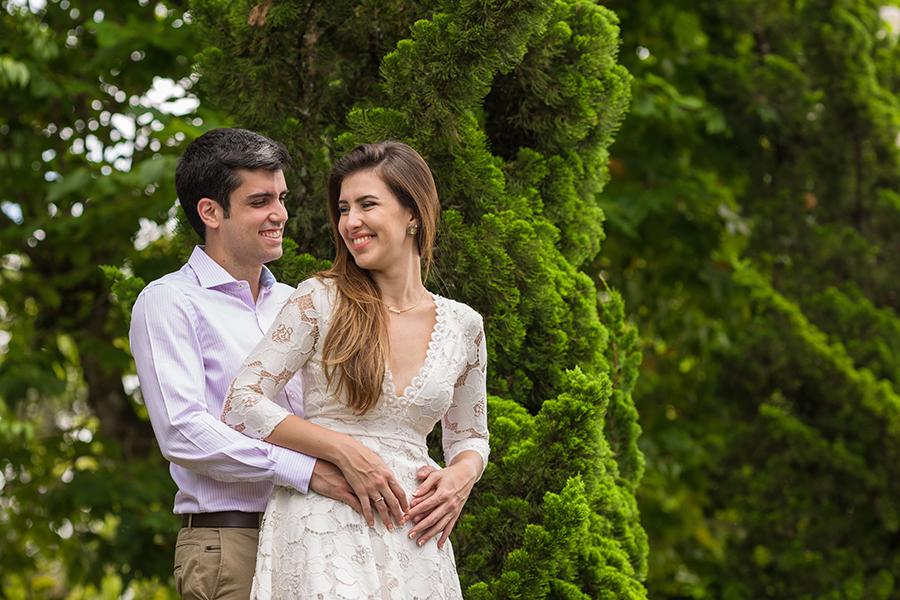 Erica Farat e Antonio de Matos no ensaio fotográfico pré casamento