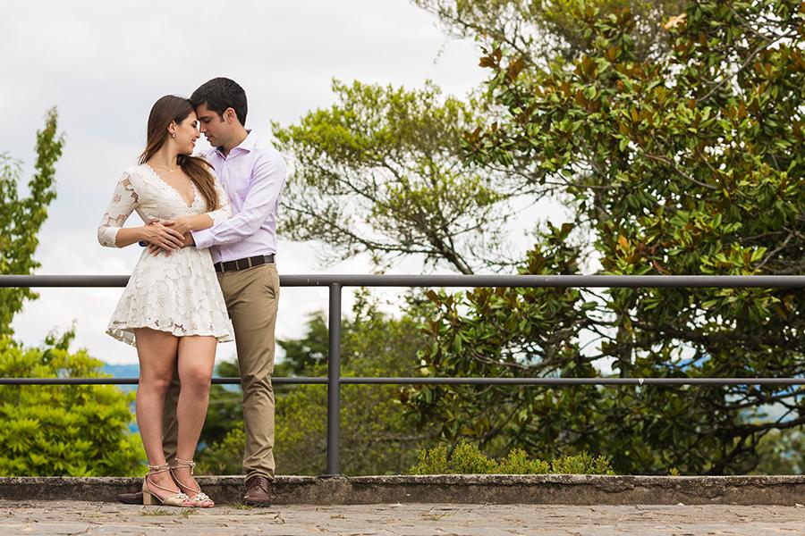Noivos Erica Farat e Antonio de Matos em ensaio fotográfico