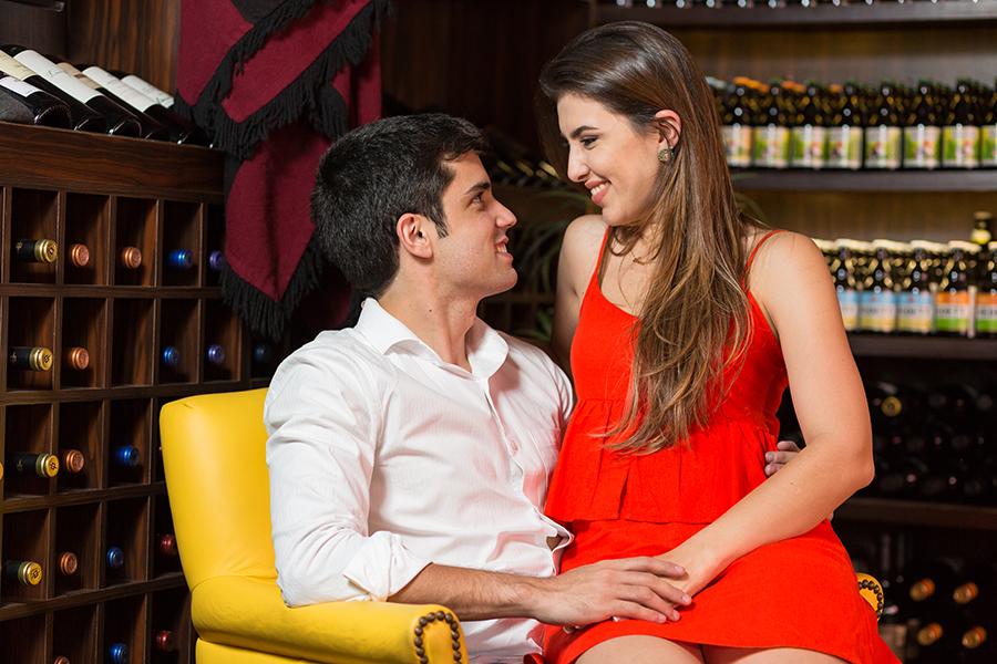 Ensaio pré casamento do casal de noivos Erica Farat e Antonio de Matos