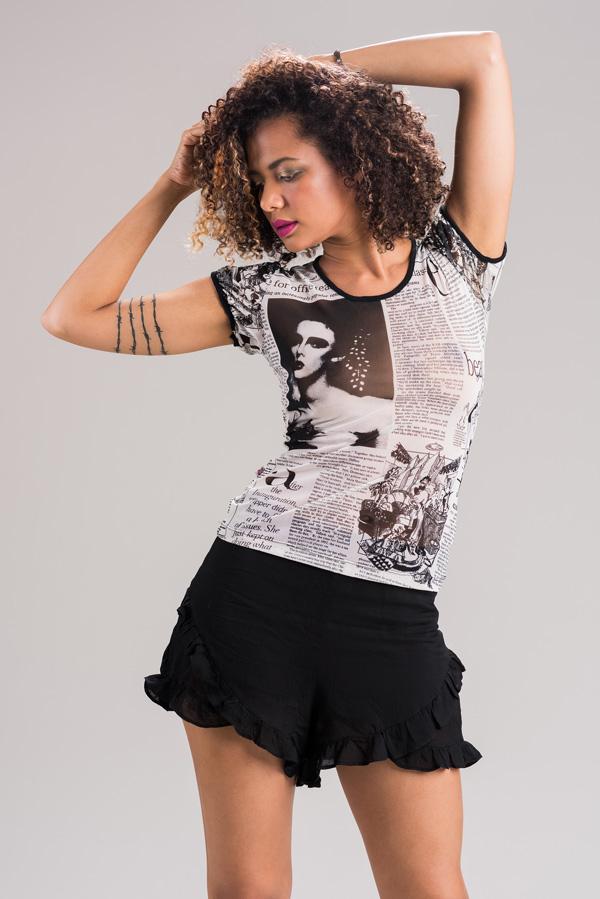 A linda modelo Ozanah Ferreira no belo ensaio fotográfico feito pelo fotógrafo Romero Cruz