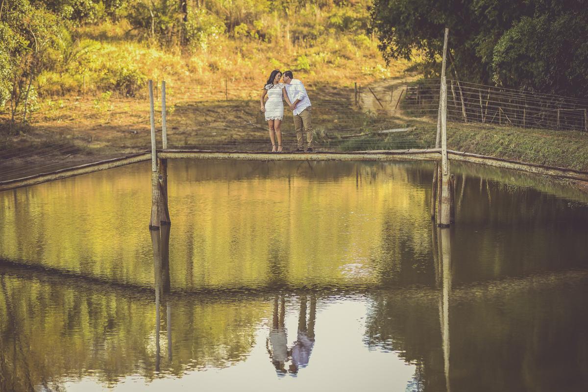 Foto de Franciele e Alex