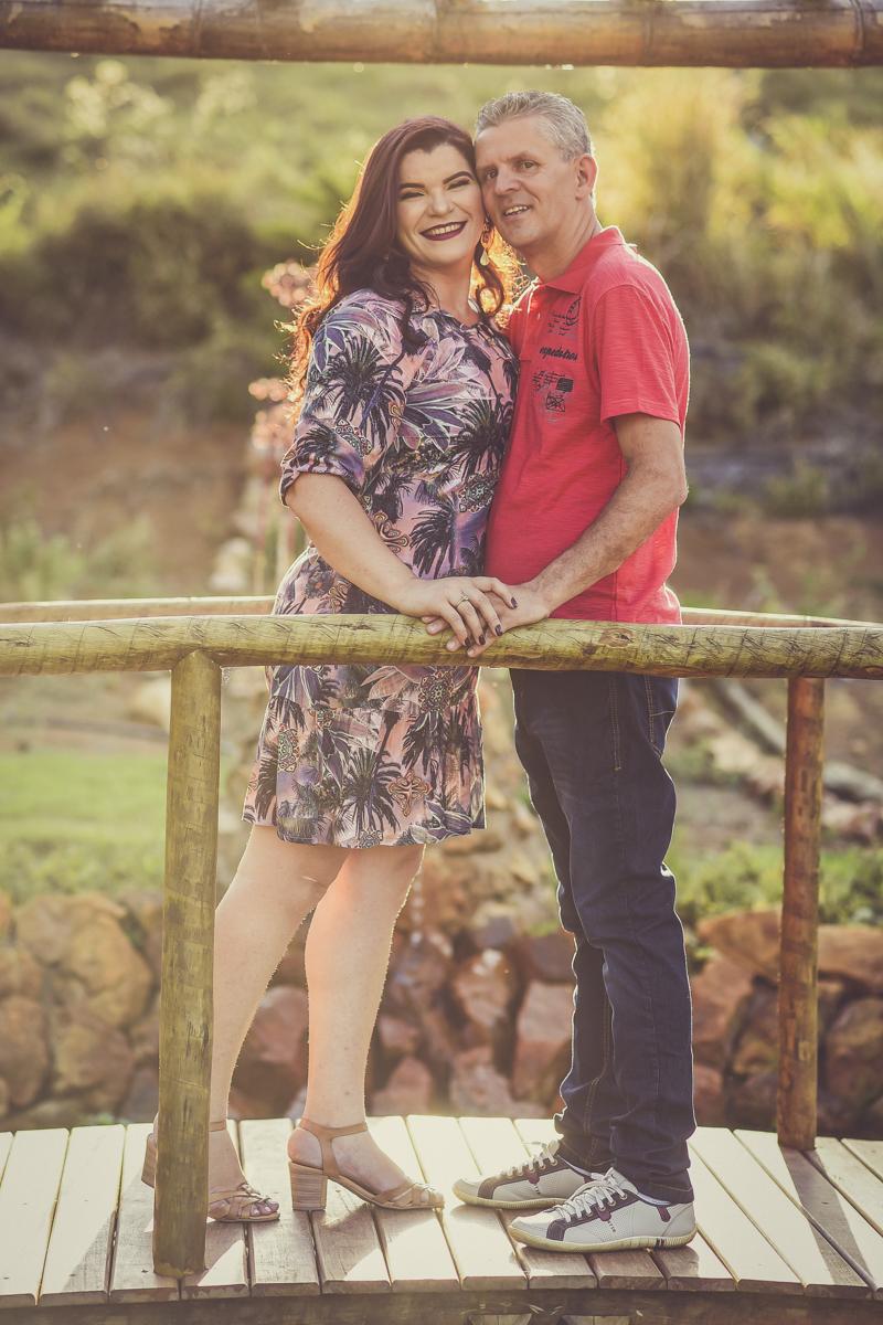 Foto de Margareth e Edicarlos
