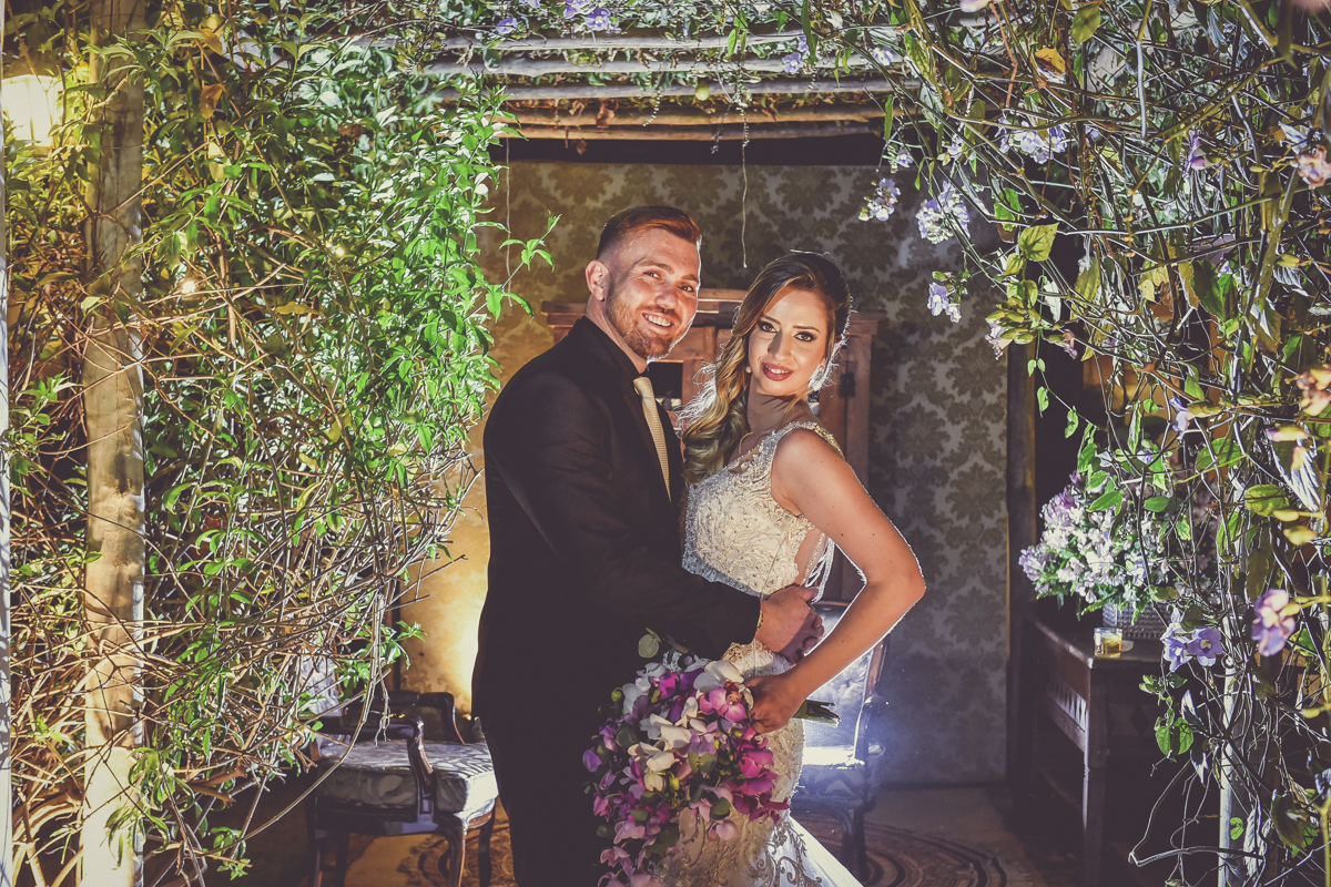 Foto de Tatiane e André