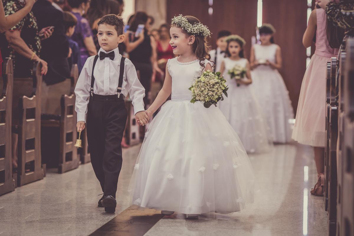 Foto de Isabela e André