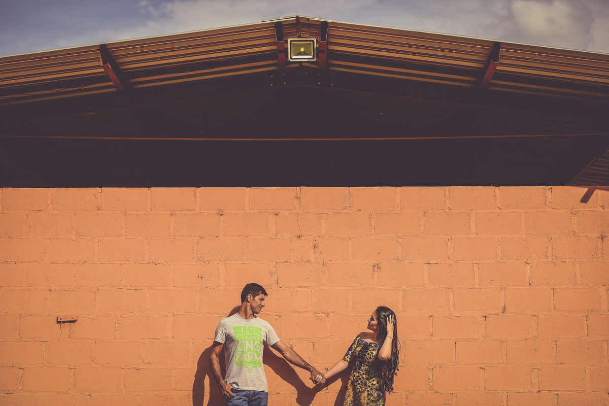 Foto de Luana e Ênio