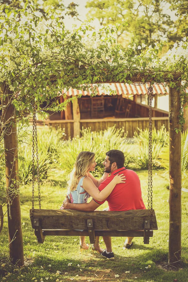Foto de Gabriela e Vinícius
