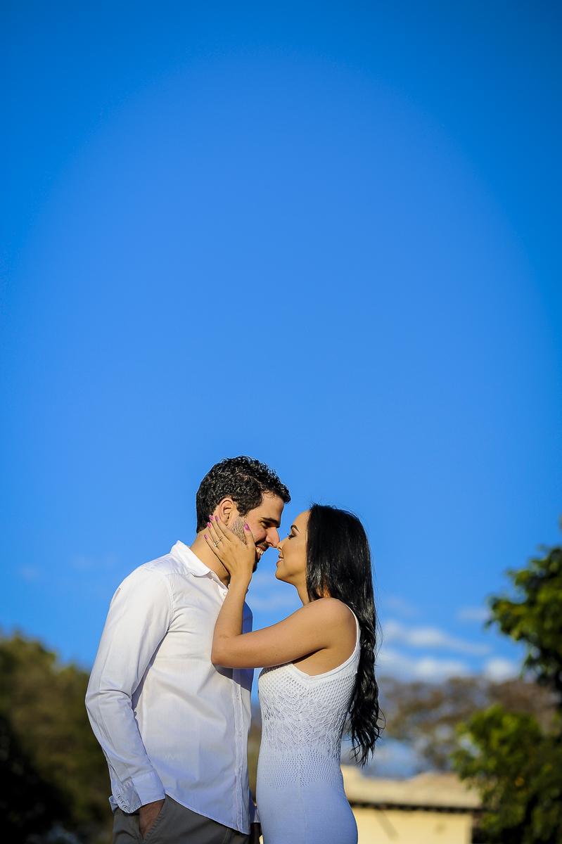 Foto de Naysa e Guilherme