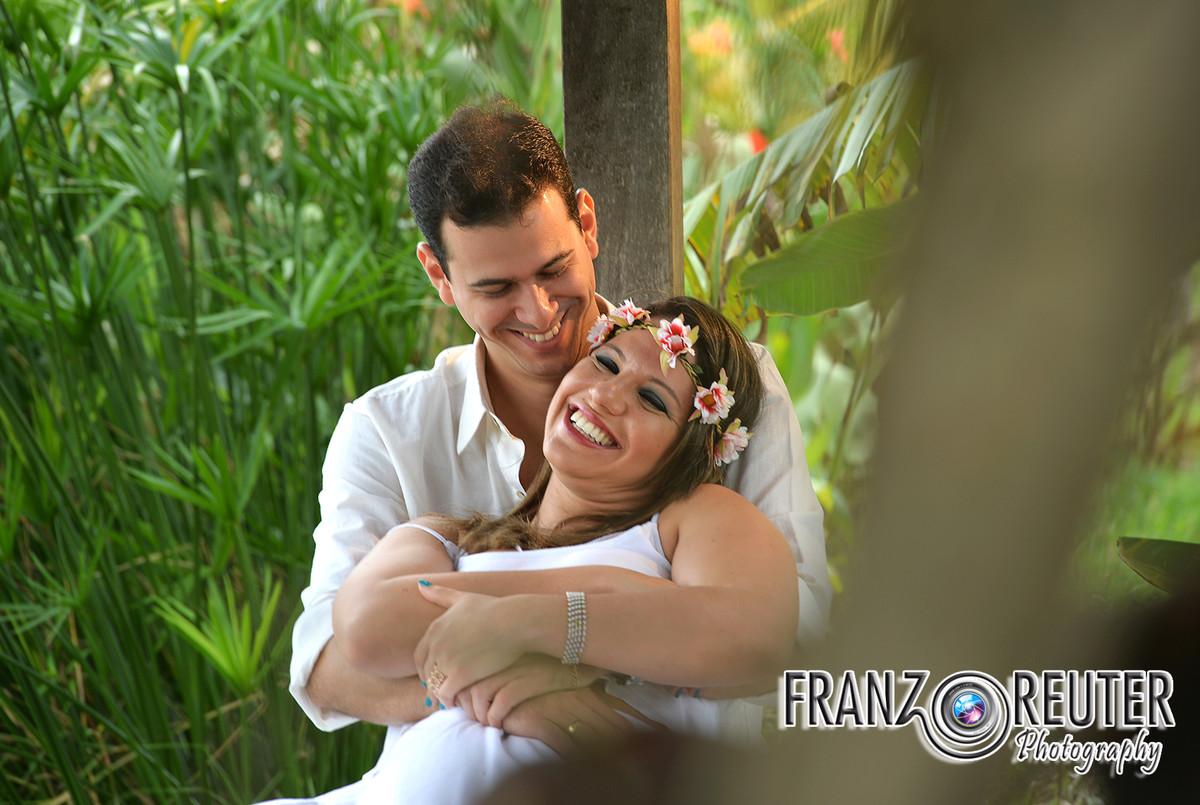 Foto de Camila e Sérgio