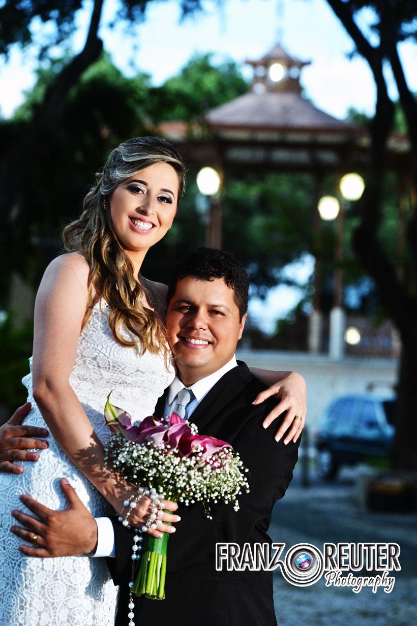 Foto de Tainá e Pedro