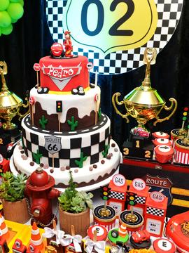 Aniversários de Carros Disney -Pedro Abbas 2 anos em Feira de Santana - Bahia
