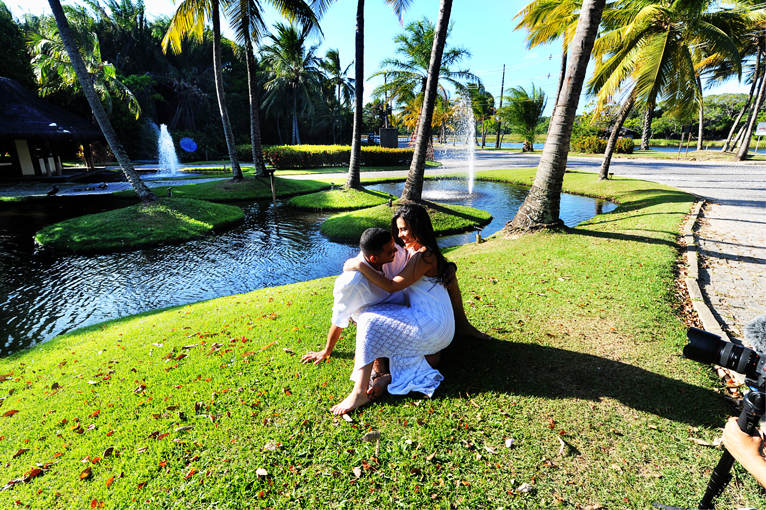 Foto de Caetano e Vanessa