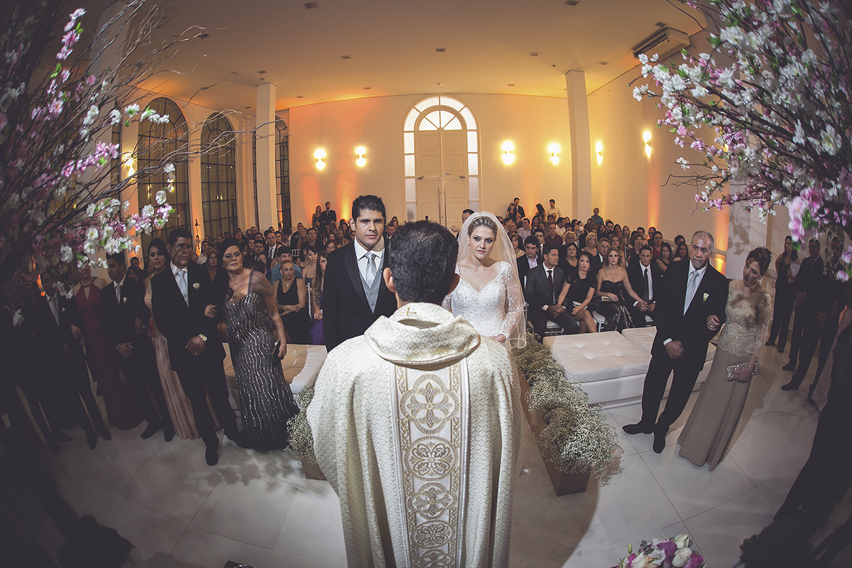 fotografia feita por Cleber Thiber, durante a cerimonia do casamento