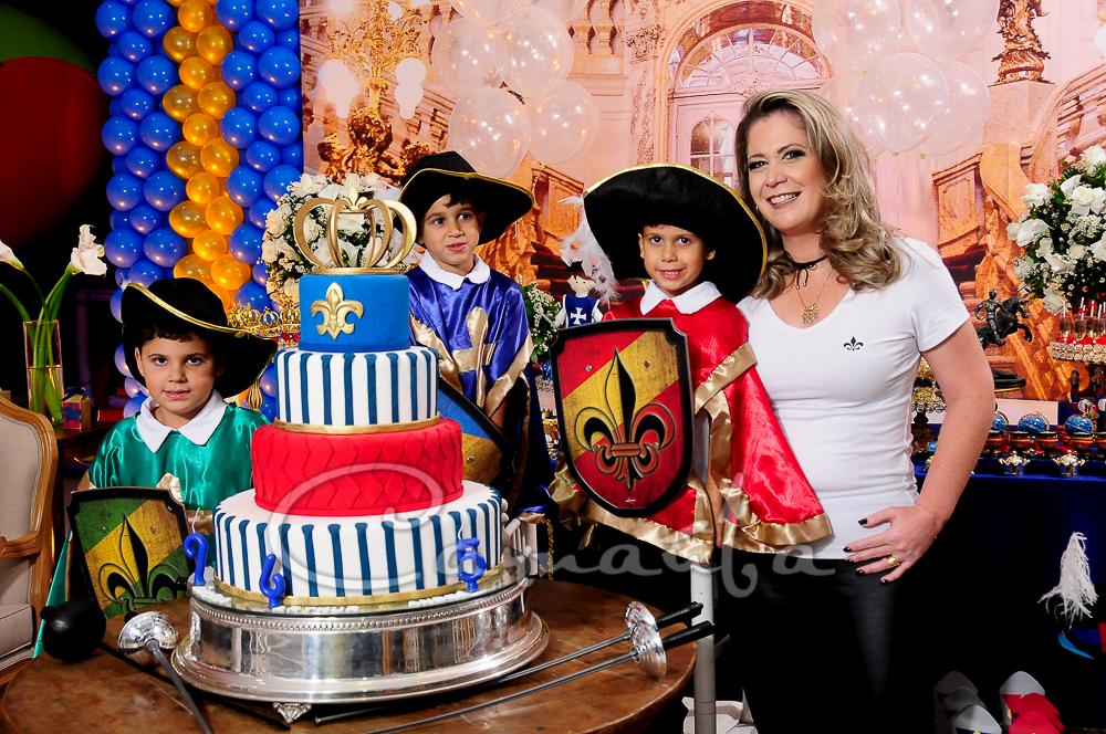 Foto de Aniversário de Angelo, André e Arthur