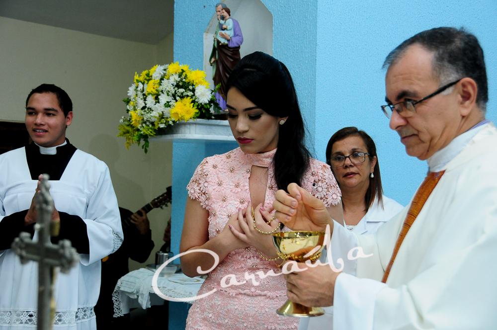Foto de Missa de 15 anos Júlia Beatriz