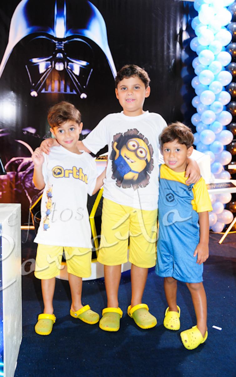 Foto de 4 ANOS DE ANDRÉ E 5 DE ARTHUR