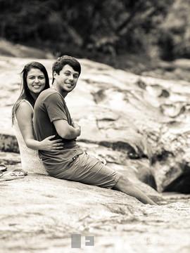 Pré-Wedding / Save the Date de Cris e Dudu em Lumiar - RJ