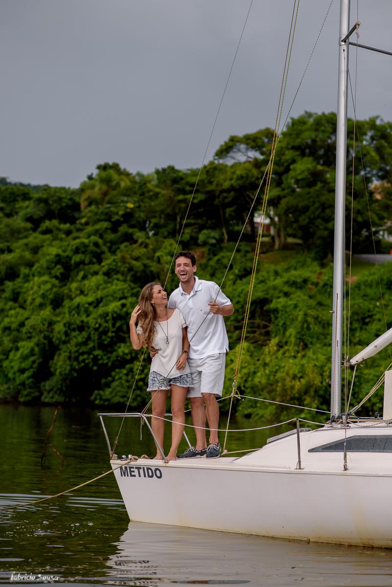 muitos sorrisos no veleiro Metido na lagoa da conceição em Floripa